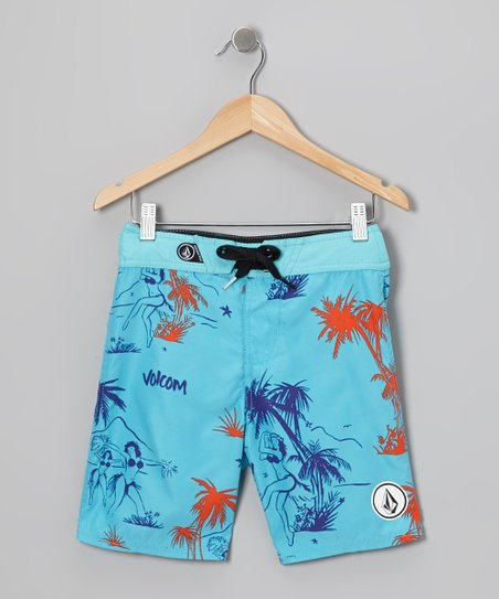 Blue 45th St Boardshorts - Toddler & Boys