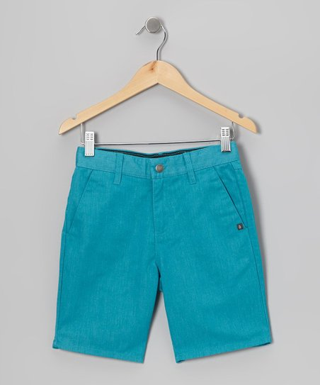 Bright Turquoise Vmonty Shorts - Toddler & Boys