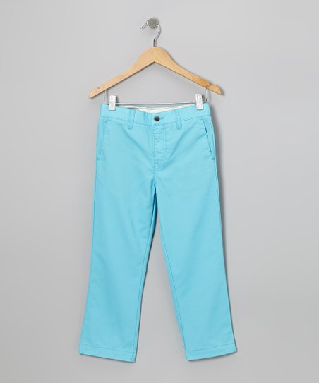 Blue Drift Modern Chino Pants - Boys