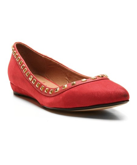 Red Too Skittle Ballet Flat