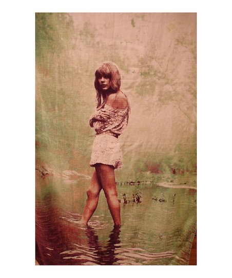 Taylor in Water Beach Towel