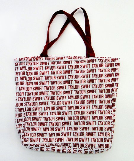Red Signature Tote