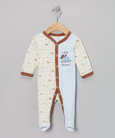 Ivy Little Buckaroo Footie - Infant