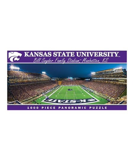 Kansas State Wildcats Panoramic Stadium Puzzle
