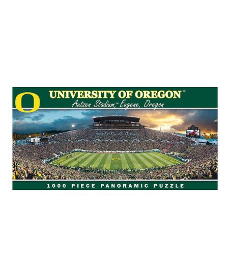 Oregon Ducks Panoramic Stadium Puzzle