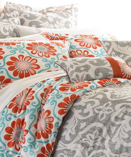 Angelo Floral Comforter Set