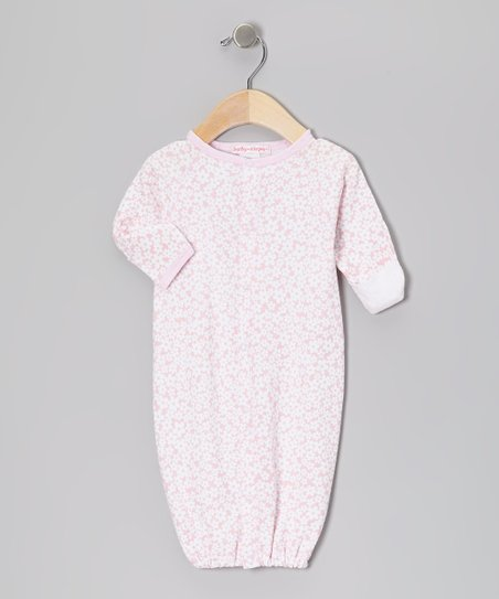 Pink Daisy Convertible Gown - Infant