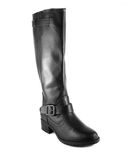 Black Buckle Ignacio Boot
