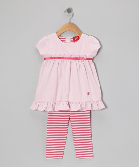 Pink Ruffle Tunic & Leggings - Infant