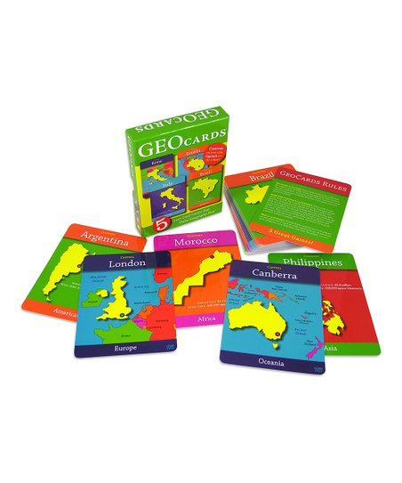World GeoCards Set