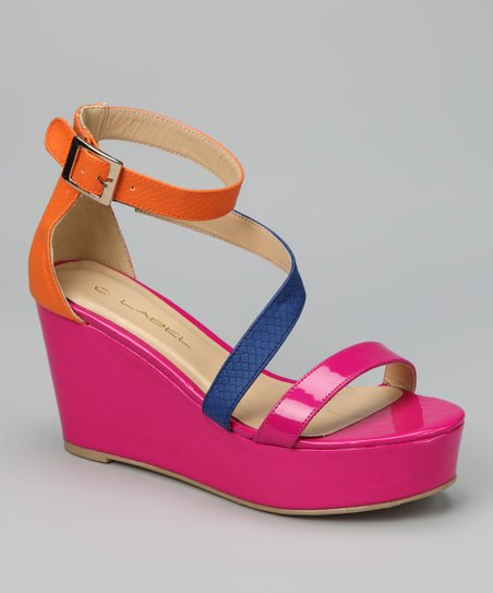 Magenta Bottega-3 Sandal