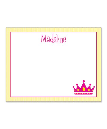 Princess Personalized Desk Pad