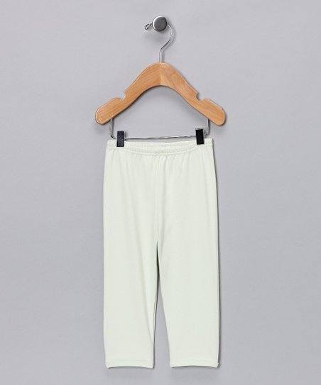 Green Gamuza Pants - Infant