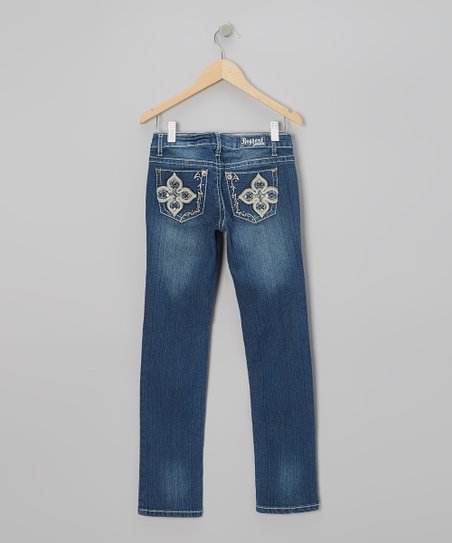 Medium Wash Stanford Jeans - Girls