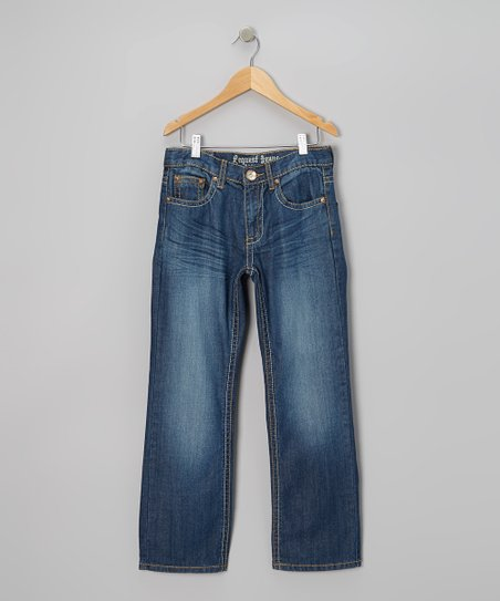 Light-Wash Aiken Jeans - Boys