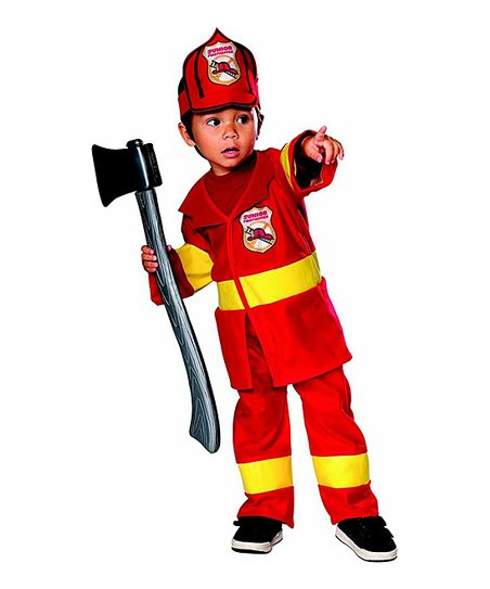 Red Firefighter Dress-Up Set - Infant & Toddler
