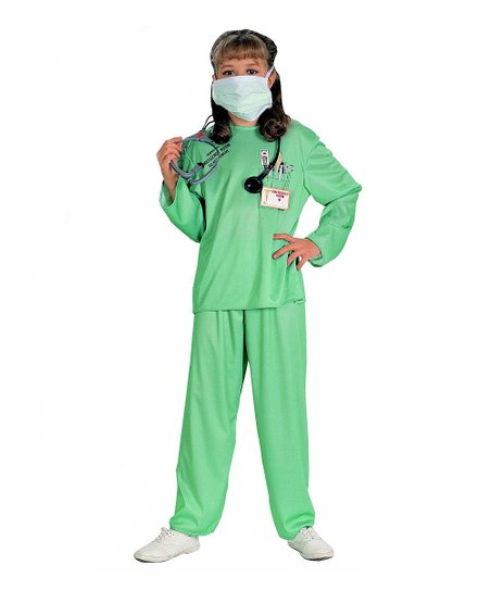 Teal E.R. Doctor Dress-Up Set - Girls