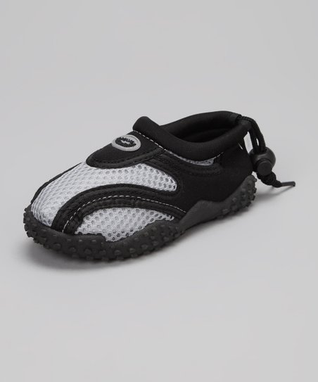 Gray & Black Water Shoe