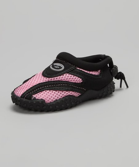 Light Pink & Black Water Shoe