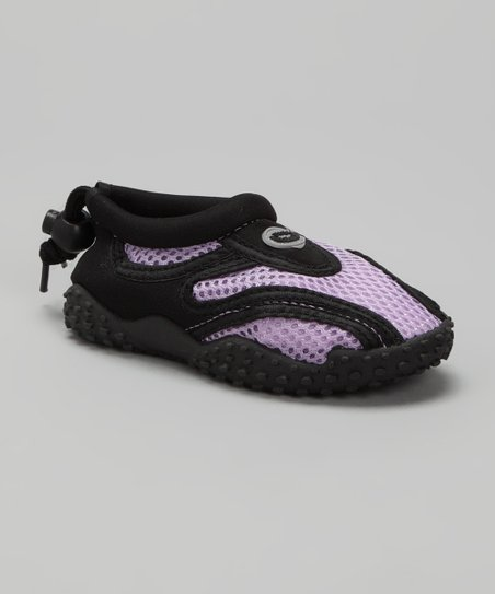 Purple & Black Water Shoe