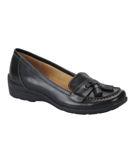 Black Tanya Loafer