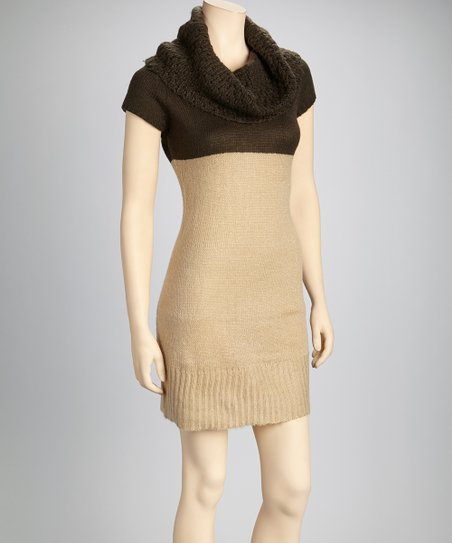 Stone & Olive Sweater Dress