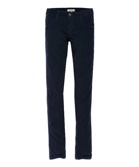 Dark Denim Blue Skinny Jeans