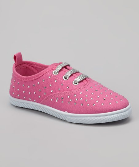 Light Pink Rhinestone Sneaker