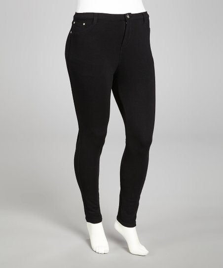 Black Skinny Pants - Plus