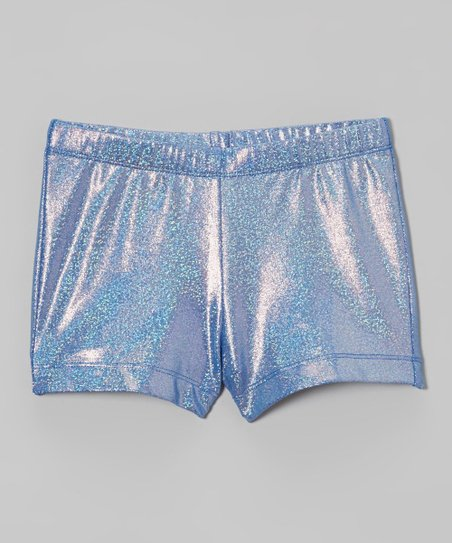 Blue Rocket Sparkle Shorts - Girls