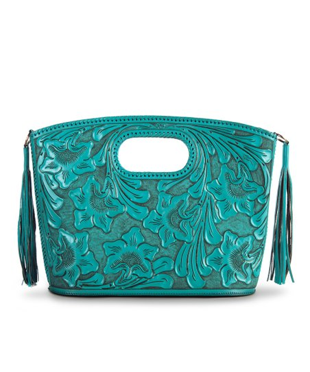 Turquoise Claire Tote