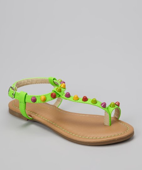 Green Bear Sandal