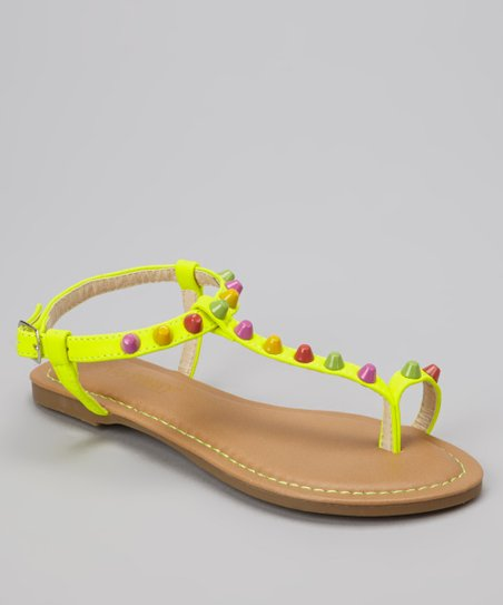 Yellow Bear Sandal