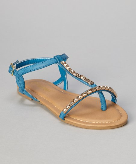 Blue Stud Bear Sandal