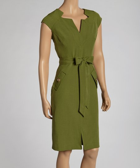 Grove Cap-Sleeve Dress