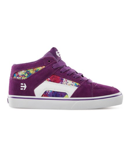 Purple & White RVM Vulcan Sneaker