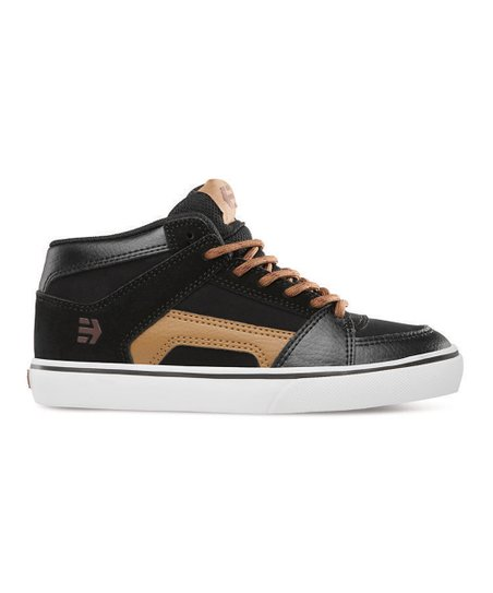 Black & Brown RVM Vulcan Hi-Top Sneaker