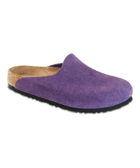 Blackberry Suede Amsterdam Mule - Women