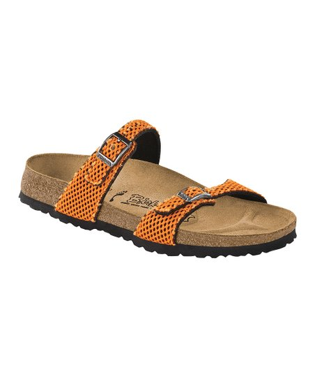 Mesh Trekking Orange Tahiti Slide - Women