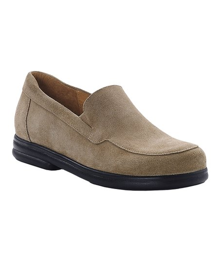 Taupe Suede Pavia Loafer - Women