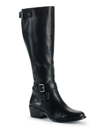 Black Leather Belina Boot