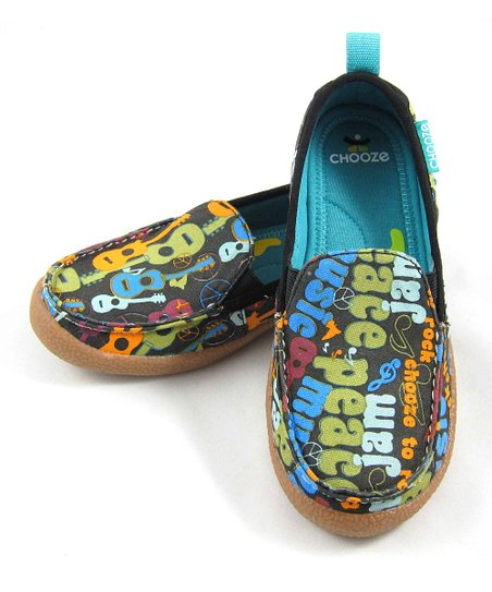 Blue & Green Jam Scout Shoe  - Kids