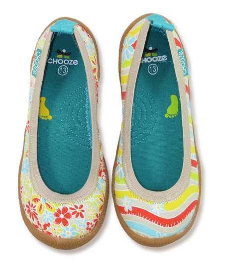 Charm Red Twirl Flat - Kids