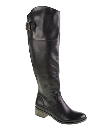 Black Classic Riding Boot