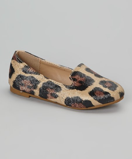 Brown Cheetah Kylie Loafer
