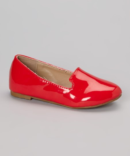 Red Patent Kylie Loafer