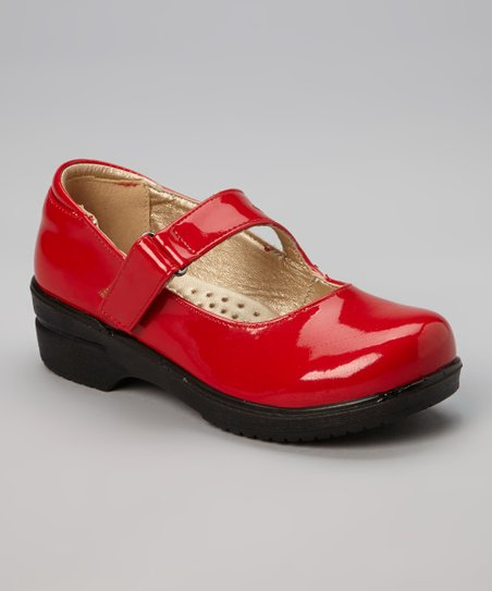 Red Patent Danny Mary Jane - Kids