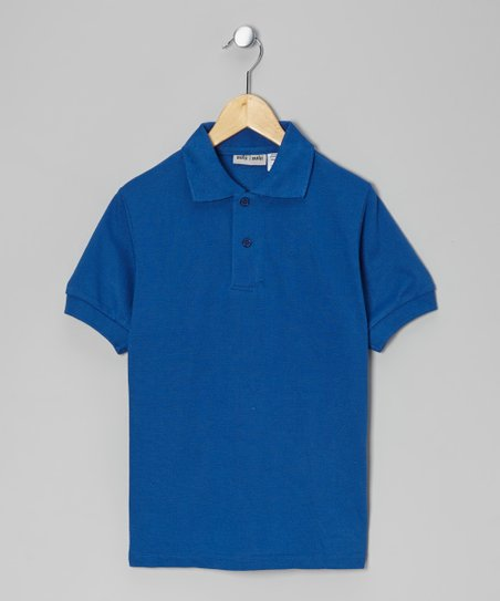 Royal Pique Polo - Boys