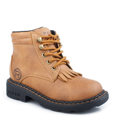 Tan Riderlite Hiking Boot - Kids