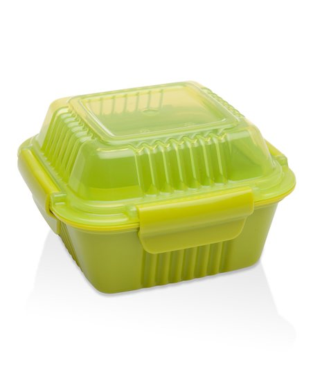 Lettuce Green 12-Oz. Insulated To-Go Food Container